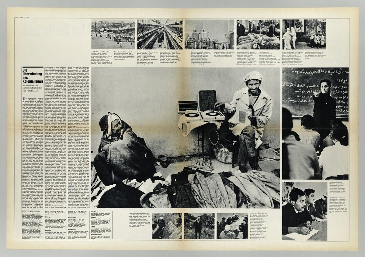 Publik visuell 14/1970 (Doppelseite) -