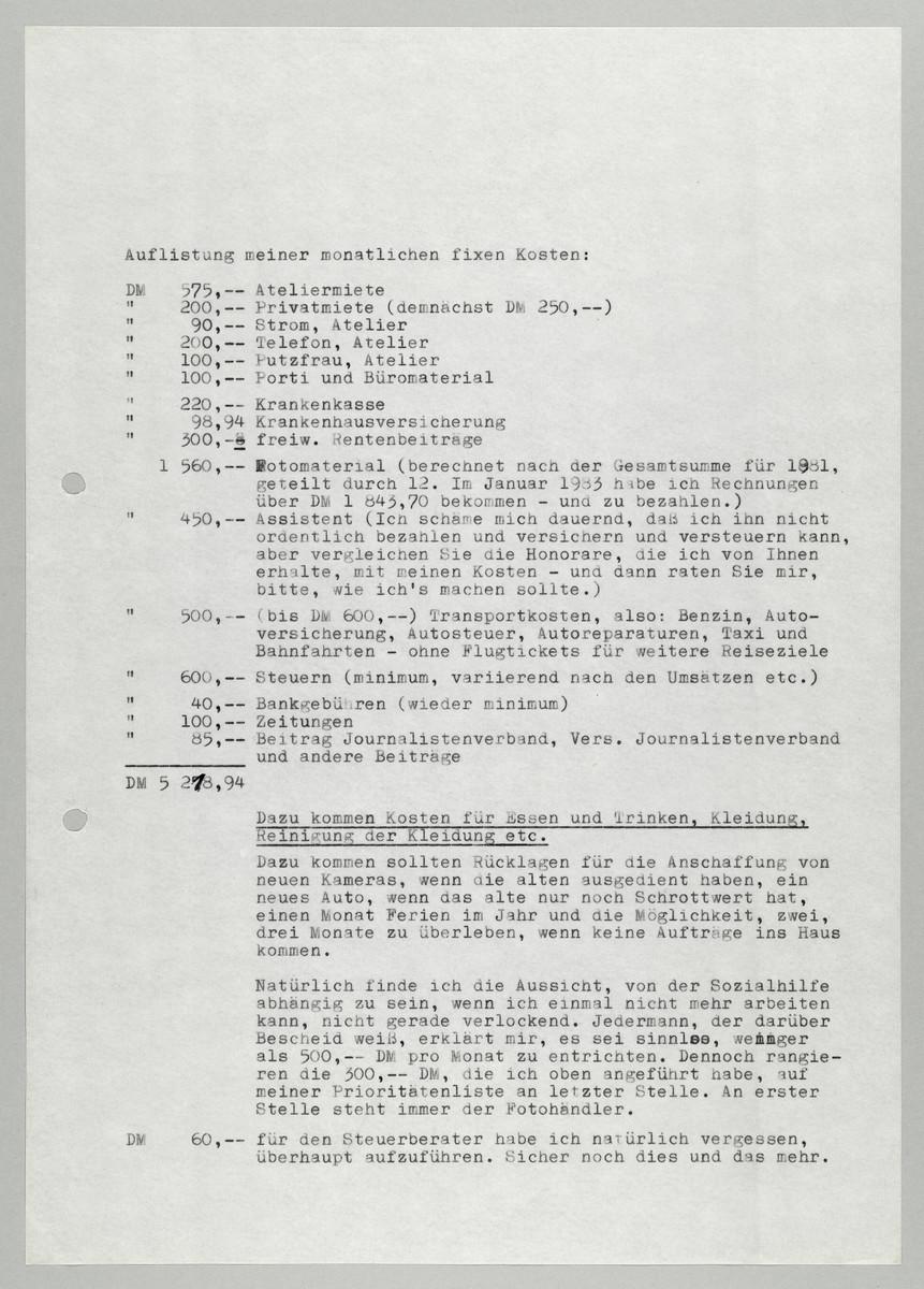 Brief von Abisag Tüllmann an Hermann Beil, 16.2.1983, Seite 3 (von 5) -