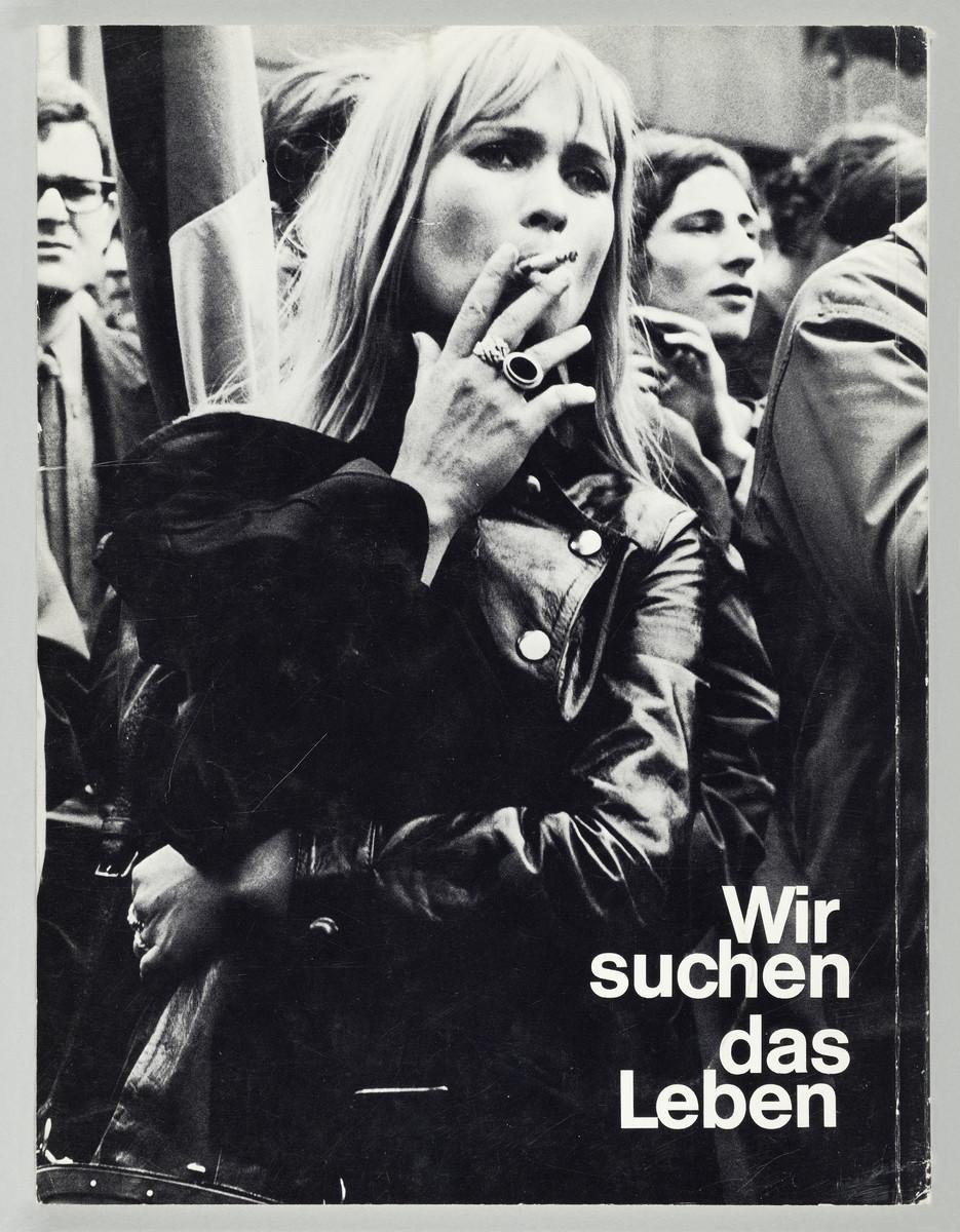 Gerhard Kiefel (Hg.), Wir suchen das Leben (Rückseite), 1970 -