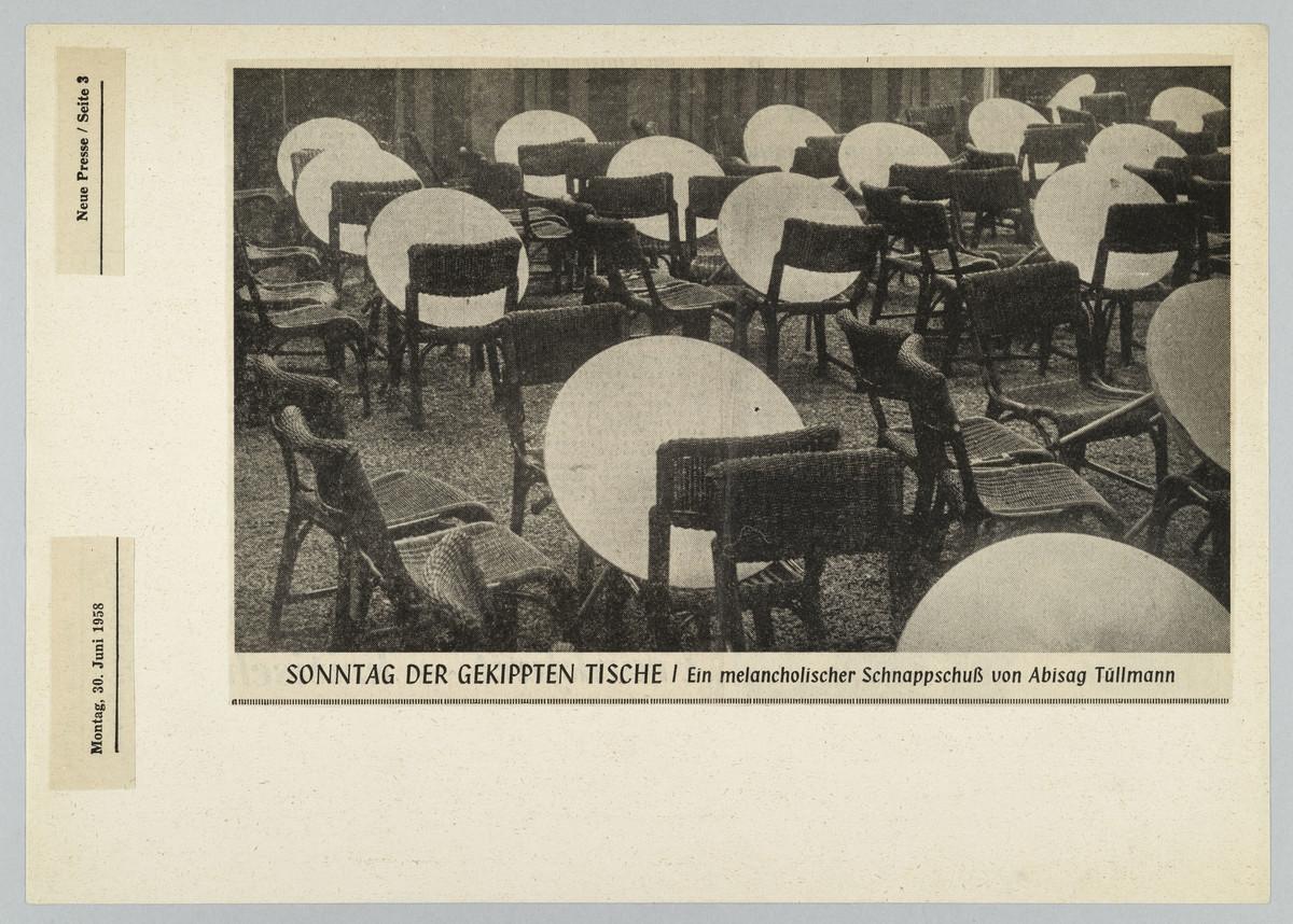Frankfurter Neue Presse, 30.06.1958, S. 3 (Zeitungsausschnitt) -