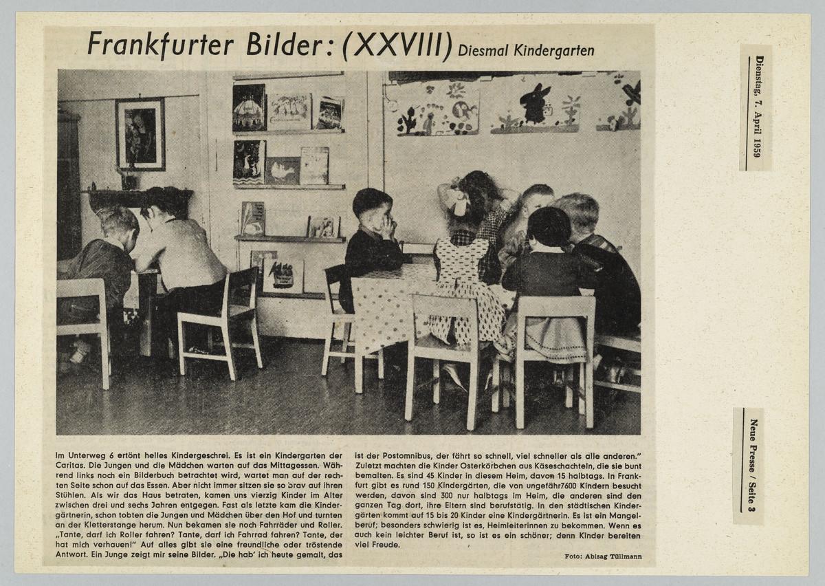 Frankfurter Neue Presse, 07.04.1959, S. 3 (Zeitungsausschnitt) -