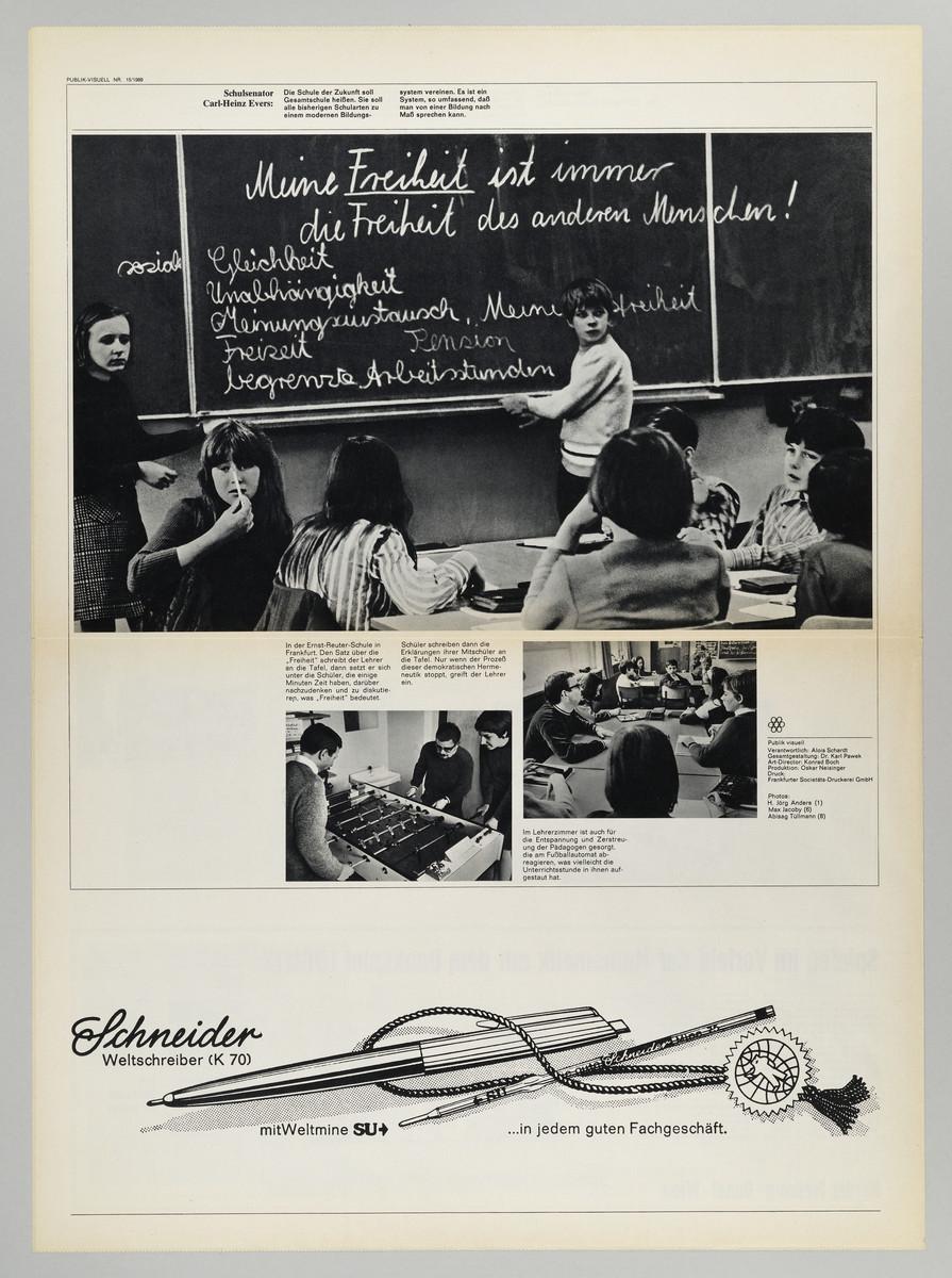 Publik visuell 15/1969 (Rückseite) -