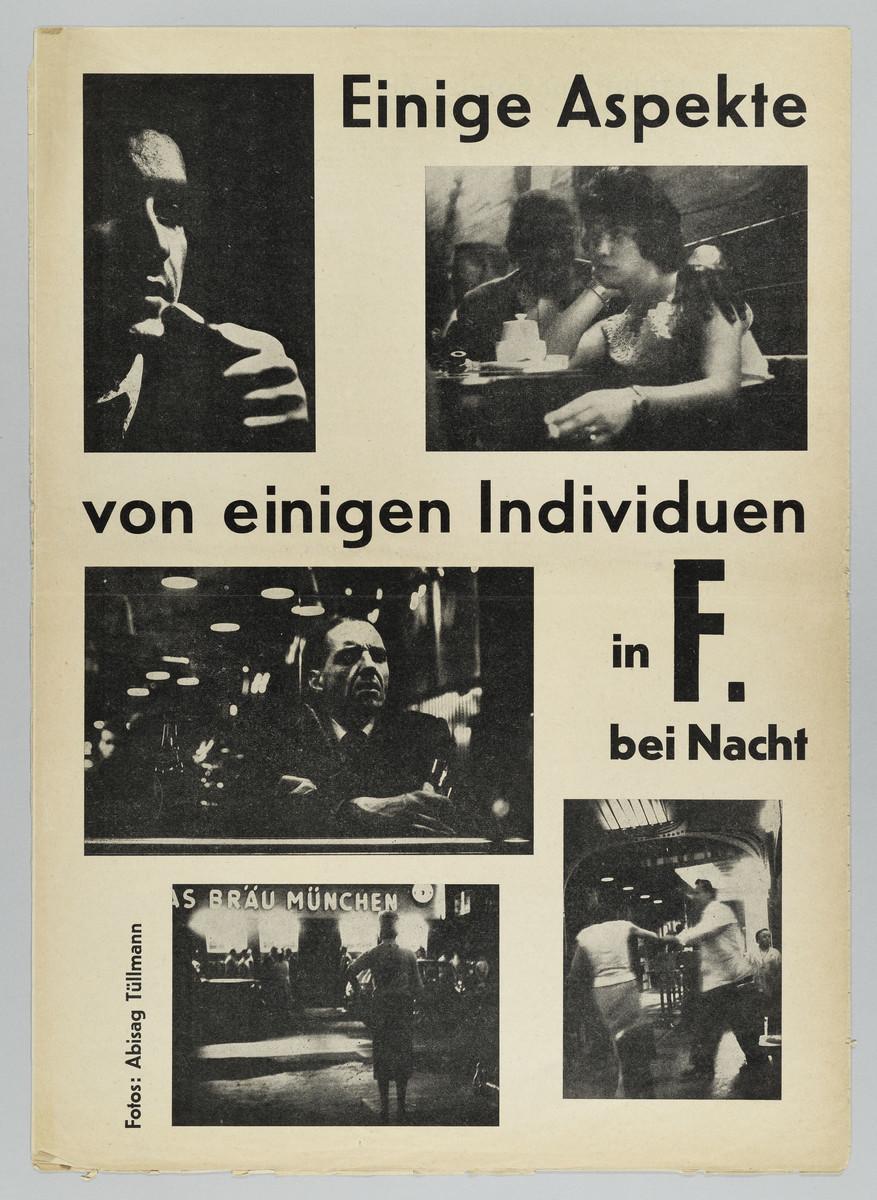 Diskus. Frankfurter Studentenzeitung, 9. Jahrgang, Heft 7, Juli/August 1959 -