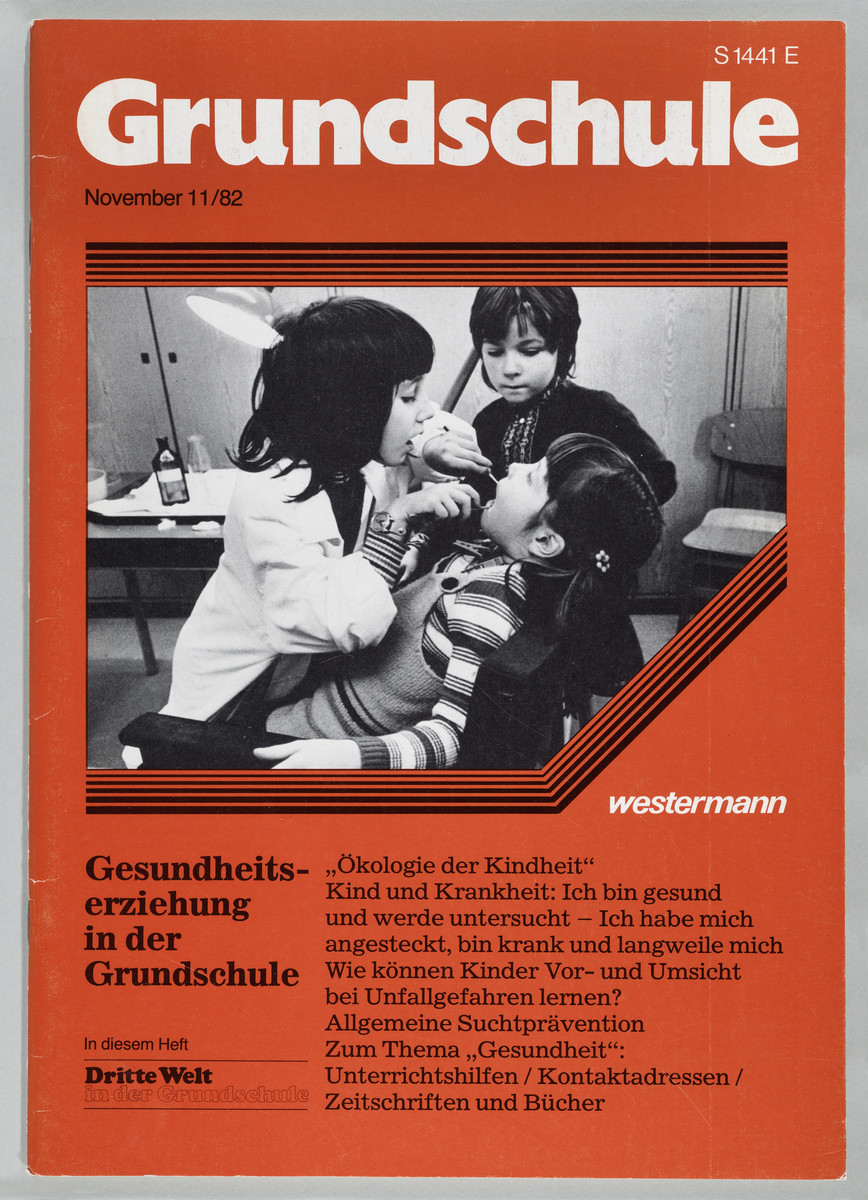 Grundschule, Heft 11, November 1982 (Cover) -