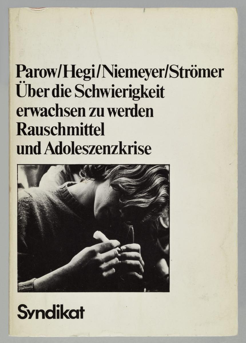 Eduard Parow (u.a.), Über die Schwierigkeit, erwachsen zu werden (Cover), 1976 -