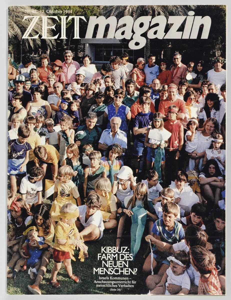 ZEITmagazin, Nr. 42, 12. Oktober 1984 (Cover) -