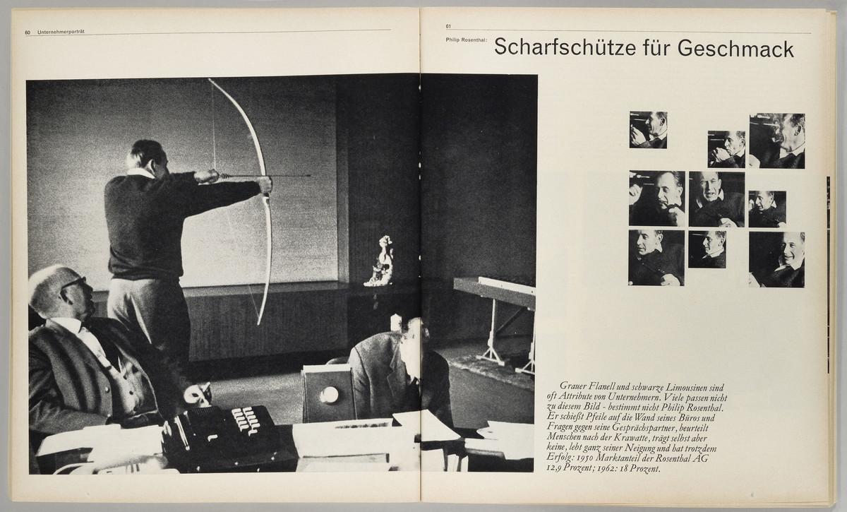 Capital, 3. Jahrgang, Heft 1, Januar/Februar 1964, S. 60-61 -