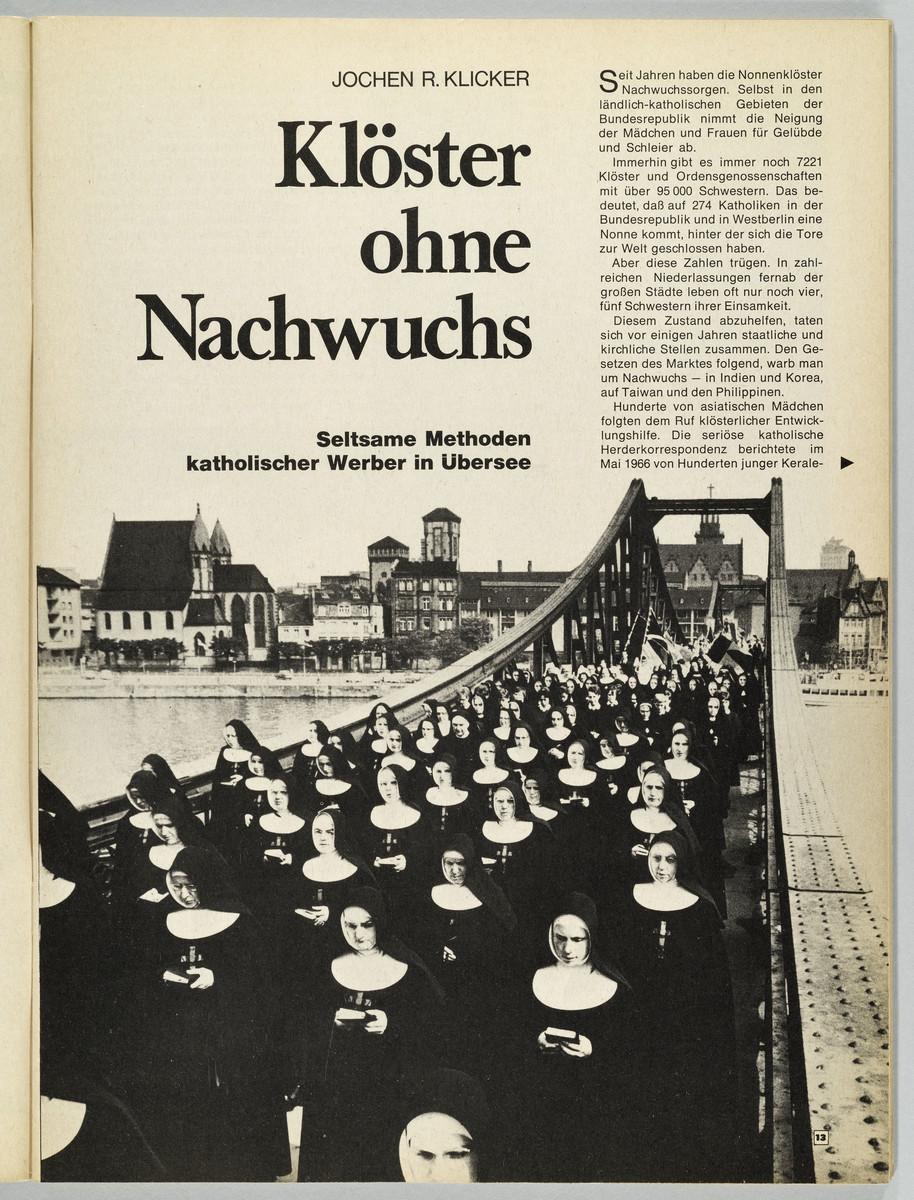 deutsches Panorama, Heft 6, 16.3.-29.3.1967, S. 13 -