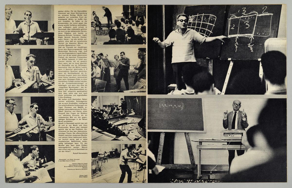 Student im Bild, 9. Jahrgang, Nr. 29, November 1964, S. 10-11 -