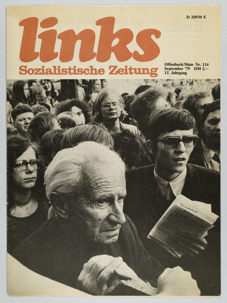 links - Sozialistische Zeitung, 11. Jahrgang, Nr. 114, September 1979 (Cover) -