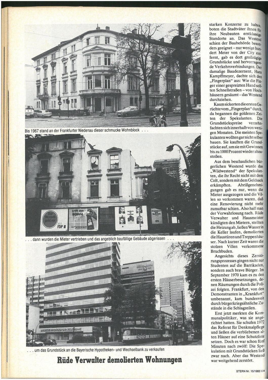 Stern Nr. 15, 1983 (linke Seite) -