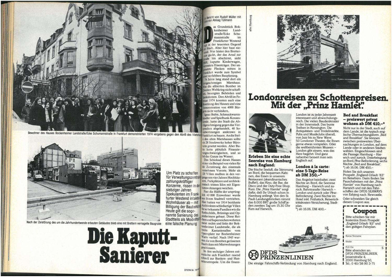 Stern Nr. 15, 1983 (Doppelseite) -